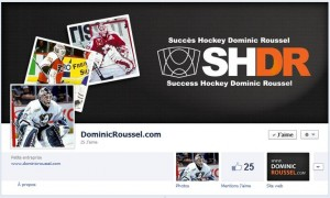 Page facebook de Dominic Roussel