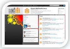 Compte d'entreprise Twitter