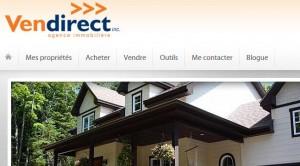 Image site web pour courtier Vendirect