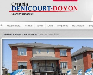 Image site de Mme Denicourt