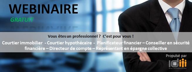 Image Webinar pour professionnel
