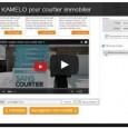 Voyez comment c'est simple et rapide de générer un courriel spécialisé pour courtier immobilier. Pour créer votre compte KAMELO et profiter d'un essai gratuit.