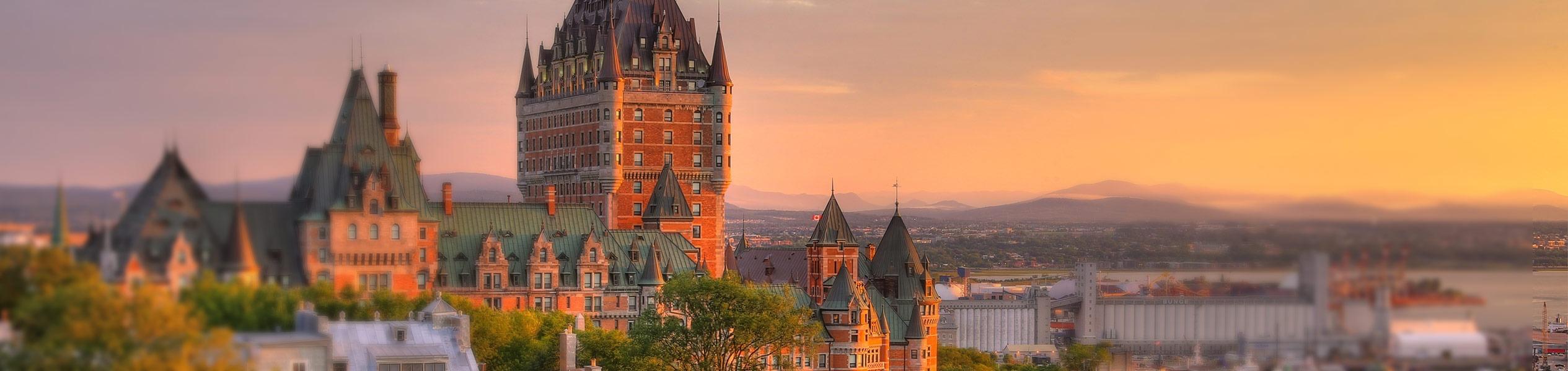 Aliquando site web immobilier vue sur la ville de Québec