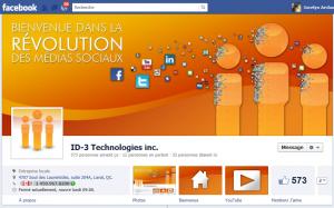 Page facebook Timeline