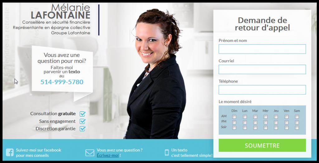 Image du site web