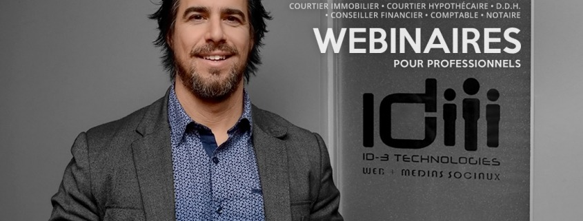 Webinaires professionnels courtiers conseillers