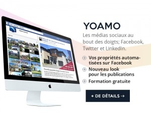 Yoamo proprietes automatisees facebook twitter