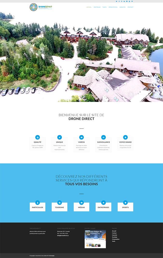 Drone Direct photos/vidéo aériennes pour professionnel ou particulier