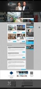 site web L'équipe Labrosse courtiers immobilier Via Capitale par ID-3 Technologies