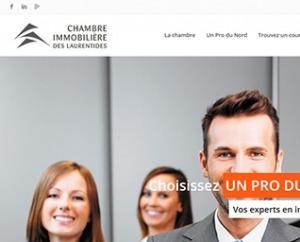 VIGNETTE_Chambre-immobilière-des-Laurentides site web par ID-3 Technologies