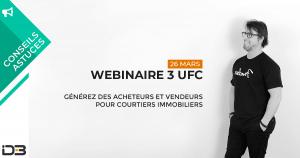 Images 3 UFC pour courtier immobilier