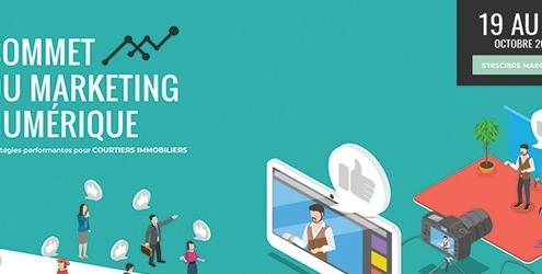 Sommet du Marketing Numérique pour courtiers immobiliers Edition 2020